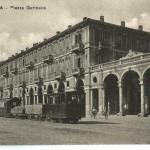 Tram in Piazza Garibaldi