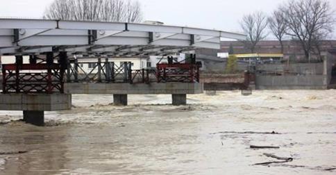 01 Dicembre 2014 – Nuova piena del Tanaro e del Bormida e ondata di maltempo in Alessandria e provincia.