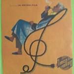 1958 – PUBBLICITA RADIO PANGAMMA NICOLETTA IMCARADIO ALESSANDRIA