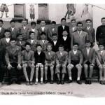 Scuola Media Cavour – Anno scolastico 1954-55 – Classe 1C