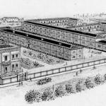 Fabbriche disegnate, un po' idealizzate, ma vere ed attive. Questa era la faccia produttiva della nostra città.