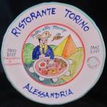 PIATTO BUON RICORDO RISTORANTE TORINO – ALESSANDRIA RIEVOCAZIONE BATTAGLIA 2011.