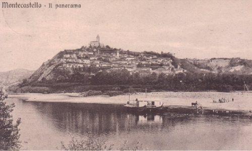 Traghetto Montecastello – Lobbi. 1930