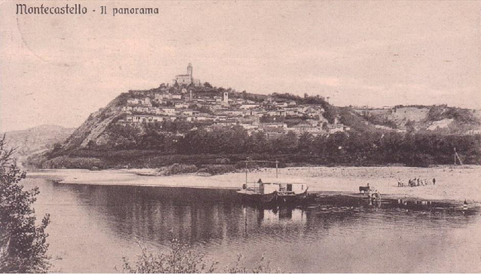 Traghetto Montecastello - Lobbi. 30/09/1933.
