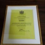2015 – A Gelindo un premio dopo 90 anni di onorato servizio