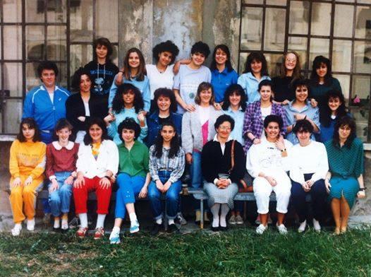 1* Media Superiore Ist. Magistrale Diodata Roero Saluzzo. 1986-87