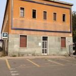 Piazzale Curiel, palazzo adibito nel passato a Deposito Personale Viaggiante FS con annesso ambulatorio medico