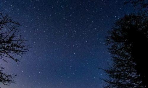 Notturno dalle alture di Alessandria sopra valle San Bartolomeo