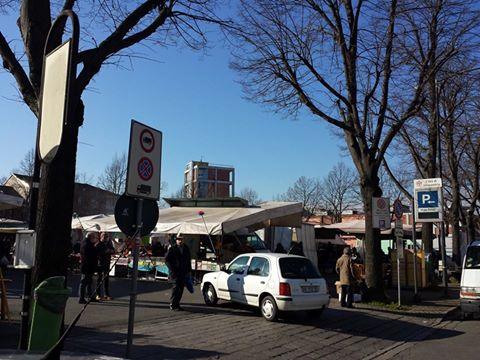 Il mercato degli Orti. foto Fabio Porrati (gennaio 2015).