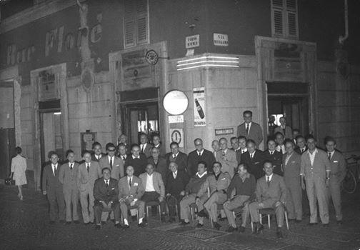 """Un altro storico e mitico bar, """"Il Florè"""", in Corso Roma già sede provvisoria dei Grigi e dei loro supportes, chiuso non moltissimo tempo fa."""