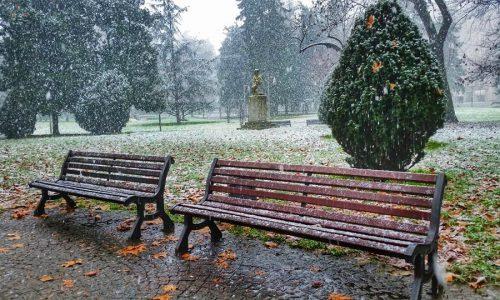 21 gennaio 2015 – -La prima neve di quest'anno ad Alessandria e provincia