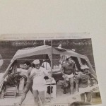 Partenza da Alessandria con la zattera …Tanaro destinazione Venezia