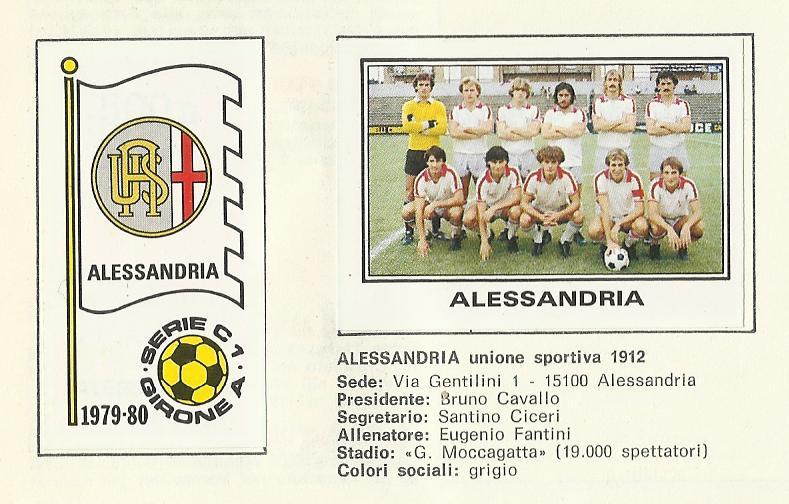 Del 1979-80 ho solo la seconda maglia: