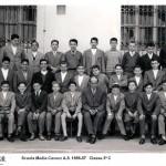 Scuola Media Cavour 1956-57 – classe 3C