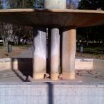 La fontana dell'Impero – giardini pubblici