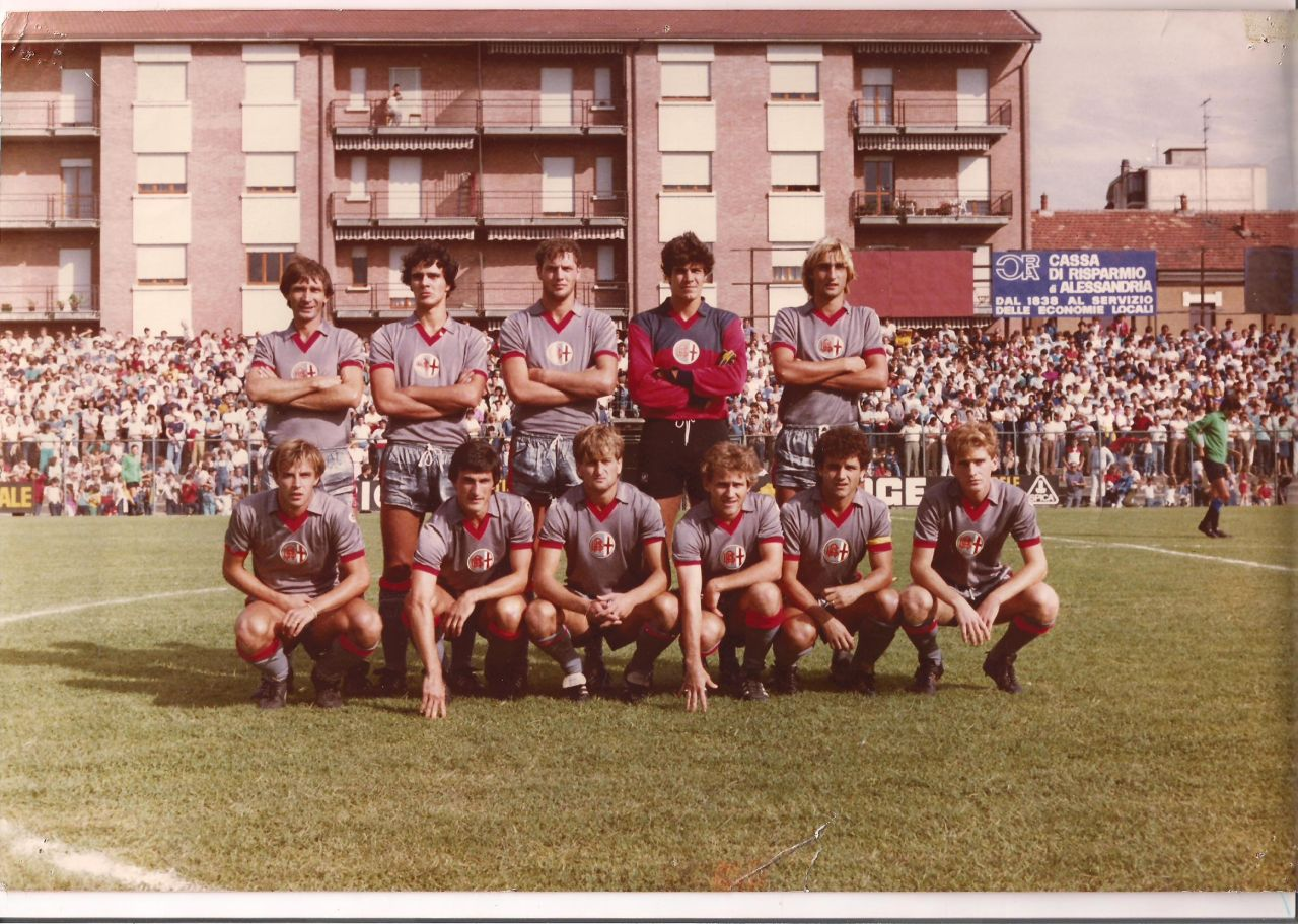 Prima e seconda maglia 1983-84