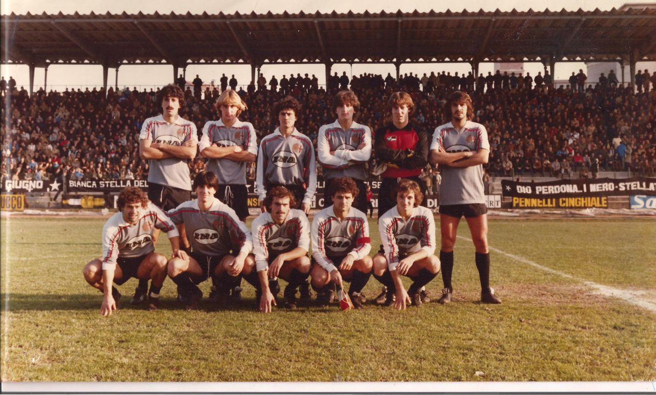 1982-83. Primo sponsor, l'INA