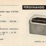PEBA RADIO (Pertusati & Balzano) modello Ninnolo