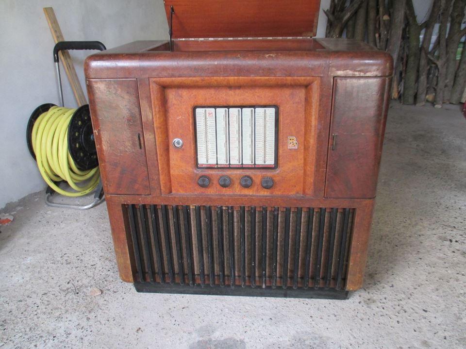 peba radio 705 fono costruita in alessandria nel 1951