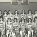 Squadra femminile di Alessandria – Bazaar Jeans – All. Rosanna Guglielmo