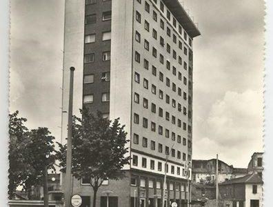 Palazzo ACI da poco costruito – ANNI '60