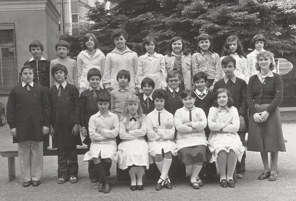 Scuola E. De Amicis - V Elementare - maestra Strozzi.
