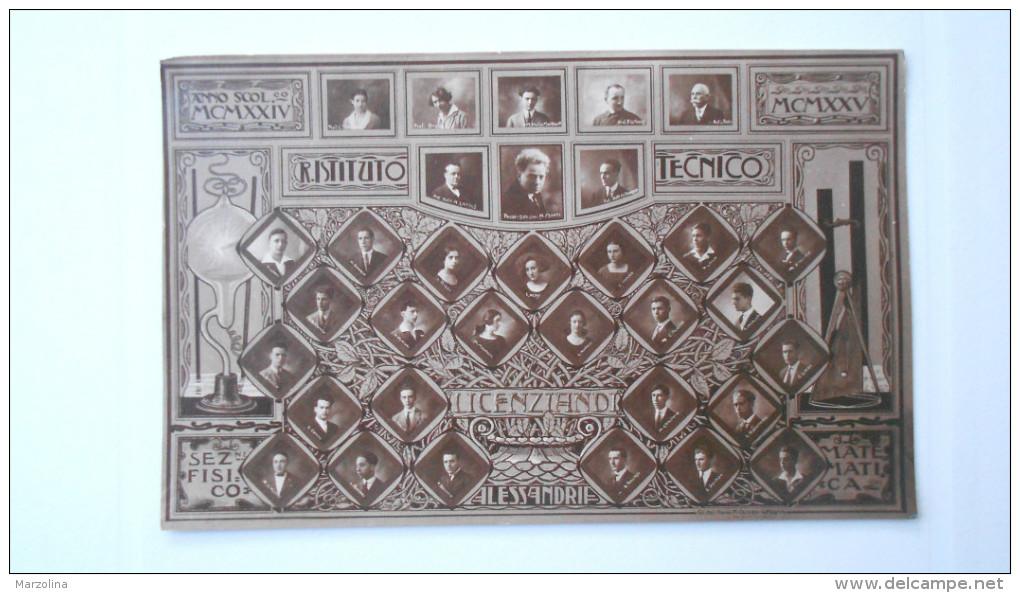 Alessandria Istituto Tecnico Licenziano Sez. Fisico Matematica, 1935
