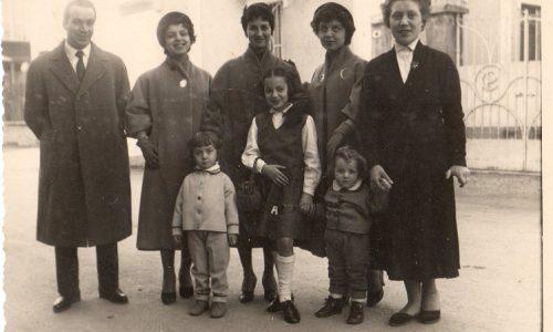 Anno 1954 – Via Galilei – Famiglia Forno