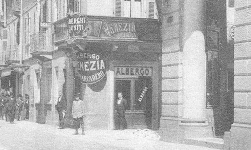 Albergo Venezia – Corso Roma angolo via Caniggia