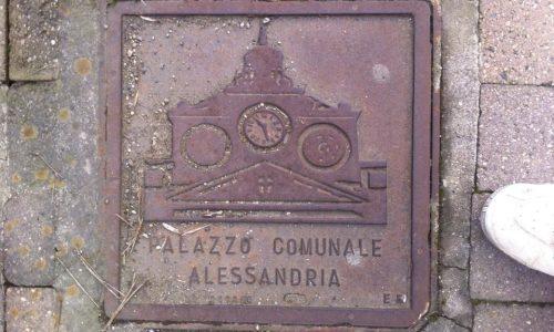 """Questi sono dei """"tombini"""" disseminati lungo la Via dei Lumini anche chiamata via Moccagatta, nei pressi del Policlinico di Monza… (Alessandria)… ovvero Clinica Città di Alessandria (nuova sede)."""