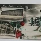 SALUTI DA ALESSANDRIA CASERMA VALFRE' – PIAZZA VITTORIO EMANUELE