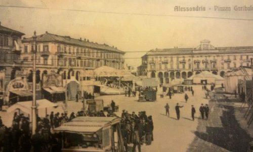 I baracconi in Piazza Savona