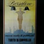 Manifesto 50′ anniversario pubblicità Borsalino