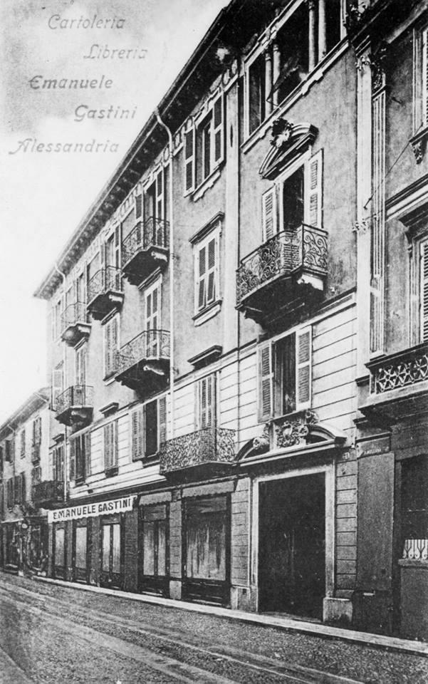 Cartoleria Libreria Emanuele Gastini Alessandria foto Ugo Boccassi