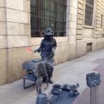 Monia ha donato arte e improvvisazione artistica – Corso Roma (Aprile 2015)
