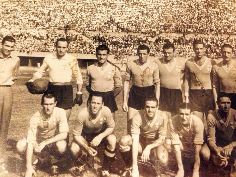 Juventus-Alessandria 3-1 Stagione 1946-47.