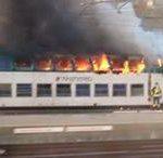 14/04/2015 Incendio in stazione ad Alessandria