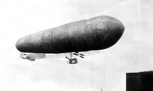 """Quel """"pallone gonfiato"""" di Celestino Usuelli: pioniere dell'aviazione e dirigibilista"""