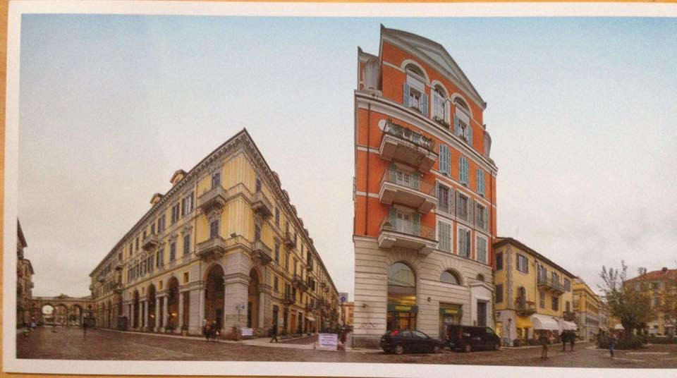 Piazza Marconi e Via Caniggia foto Maria Maggi e Valter Ravera.