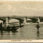 Fiume Tanaro e pescatori