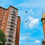 Quartiere Cristo – il grattacielo e il campanile