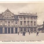 ALESSANDRIA – LICEO MUSICALE e STIPEL (oggi Telecom Italia) – 1935