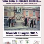 Metti, in Piazzetta una sera di mezza estate… (9/7/2015)