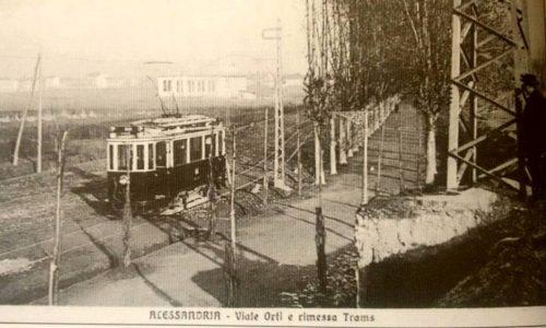 Viale Orti e rimessa Tram
