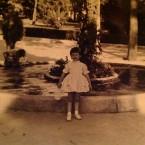 Cristina Mantelli – io da piccola ai giardini pubblici