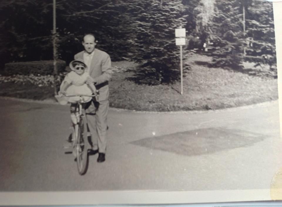 Io con il io Papà ai giardini