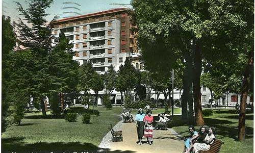 I Giardini pubblici e lo sbocco di via San Francesco di Tony Frisina