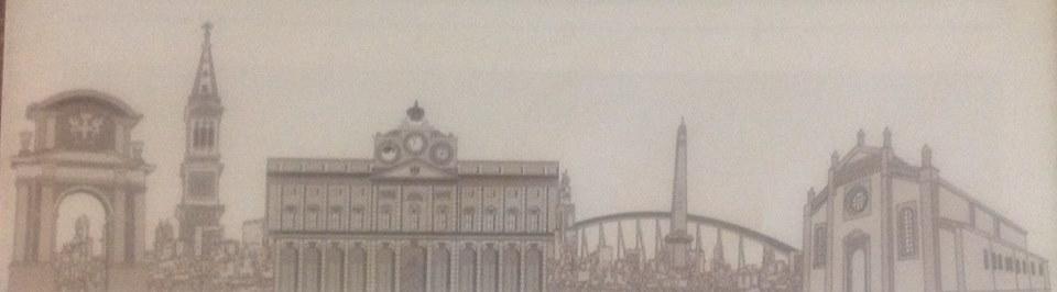 Il nostro skyline stilizzato, foto Cristina Mantelli