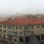 Alessandria vista dal 6* piano dell'ospedale civile.