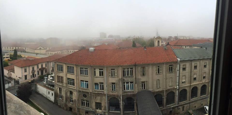 Alessandria vista dal 6* piano dell'ospedale civile. (Foto Rescia Fabrizio - Ottobre 2015)